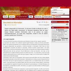 Document et information