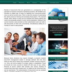 Online Document Management,Systems Solutions