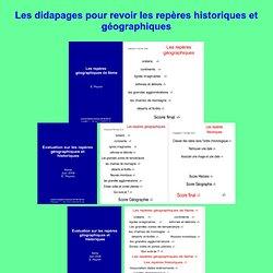Repères historiques et géographiques