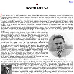Roger Bieron témoin