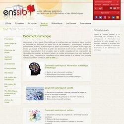 ENSSIB Document numérique