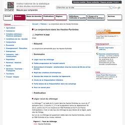 Document recherche - La conjoncture dans les Hautes-Pyrénées