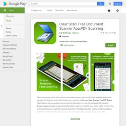 Clear Scan: Free Document Scanner App,PDF Scanning - Apps on Google Play