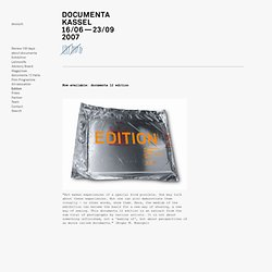 documenta 12: Edition