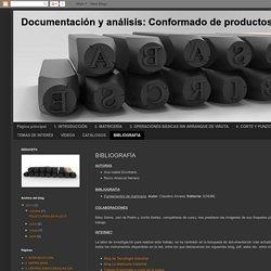 Documentación y análisis: Conformado de productos sin arranque de viruta: BIBLIOGRAFÍA