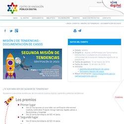 MISIÓN 2 DE TENDENCIAS - DOCUMENTACIÓN DE CASOS