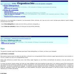 Web de técnicas de documentación y elaboración de trabajos en la investigación psicológica