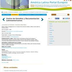 CEDLA - Centro de Estudios y Documentación Latinoamericanos