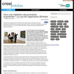 Vers une médiation documentaire augmentée ? Le cas de l'application Blinkster