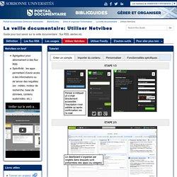 Utiliser Netvibes - La veille documentaire - BiblioGuides at Sorbonne Universités