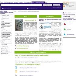 Recherche Documentaire - Bibliothèque publique d'information