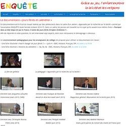 """Le documentaire """"Jours fériés et calendrier"""" - Enquête"""