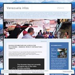 Nouveau documentaire sur la révolution bolivarienne: «Semences, rêves et contradictions (Terra TV)