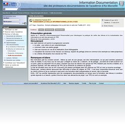Apprentissages info-documentaires - Information Documentation
