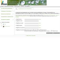Web Portal : Portail documentaire Agence régionale de l'environnement de Haute-Normandie