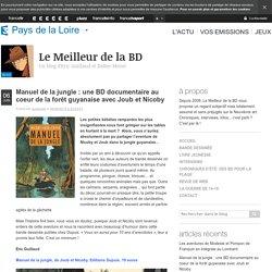 BD à lire... Manuel de la jungle de Joub et Nicoby