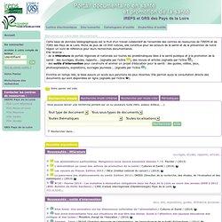 Base documentaire en ligne IREPS ORS Pays de la Loire