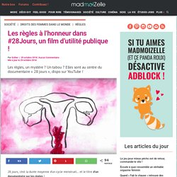 Les règles-Menstruation