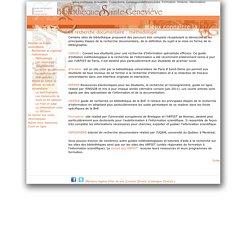 La recherche documentaire : méthodologie