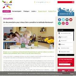 Un documentaire pour mieux faire connaître la méthode Montessori
