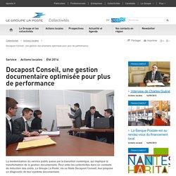 Docapost Conseil, une gestion documentaire optimisée pour plus de performance
