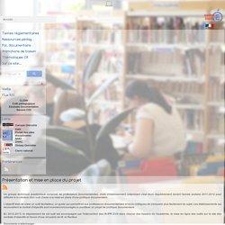 Politique documentaire et documentation dans l'académie de Grenoble - Politique documentaire et contrats d'objectifs - Présentation et mise en place du projet