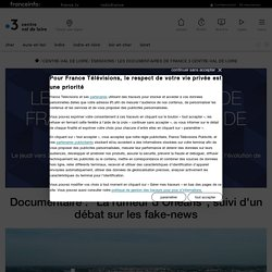 """Documentaire : """"La rumeur d'Orléans"""", suivi d'un débat sur les fake-news - France 3 Centre-Val de Loire"""
