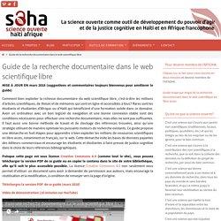 La recherche documentaire dans le web scientifique libre