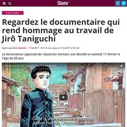 Regardez le documentaire qui rend hommage au travail de Jirô Taniguchi