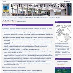 Portail documentaire de l'Université d'Avignon