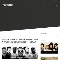 20 documentaires musicaux à voir absolument – vol.4