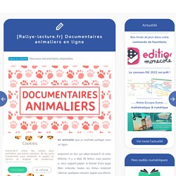 Documentaires animaliers en ligne