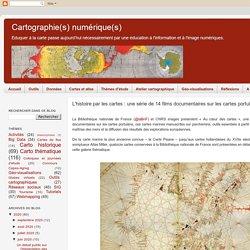 L'histoire par les cartes : une série de 14 films documentaires sur les cartes portulans (BNF)