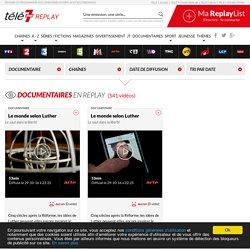TV replay : Tous les documentaires tv à revoir en streaming et en replay