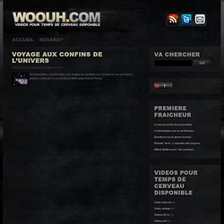 WOOUH - DOCUMENTAIRES ET REPORTAGES STREAMING GRATUITS