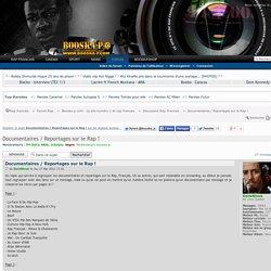 Documentaires / Reportages sur le Rap ! : Discussion Rap Francais