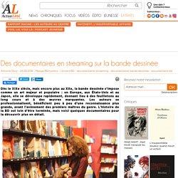 Des documentaires en streaming sur la bande dessinée