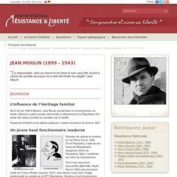 Centre Régional Résistance & Liberté - Ressources documentaires > Fiches thématiques > Biographies > Figures de la Résistance > Résistance Nationale : Jean Moulin (1899 - 1943)