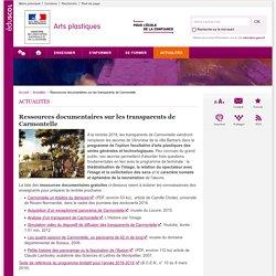 Ressources documentaires sur les transparents de Carmontelle-Arts plastiques-Éduscol