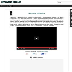 REVOLUTION IN SPAIN: Documental: Propaganda
