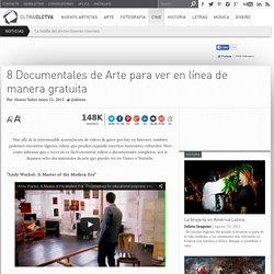 8 Documentales de Arte para ver en línea de manera gratuita