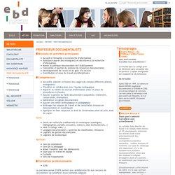 Documentaliste en CDI - Collège et Lycée - EBD