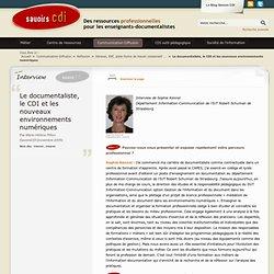Le documentaliste, le CDI et les nouveaux environnements numériques