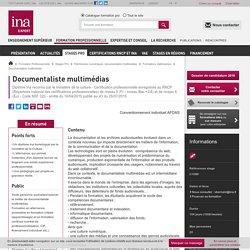 Formation diplômante documentaliste multimédias - Formation longue gestion du patrimoine numérique