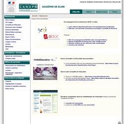 Espace Documentalistes - Réseau Canopé – Direction territoriale académies de Besançon et de Dijon