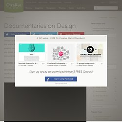 Documentaries on Design