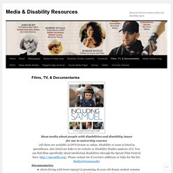 Media & Disability Resources