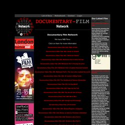 Documentaries, Watch Documentary Films Online