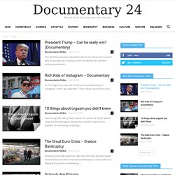 Watch Free Documentaries Online - Documentary24.com