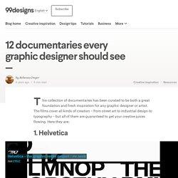 12 documentaires que tous les graphistes devraient voir